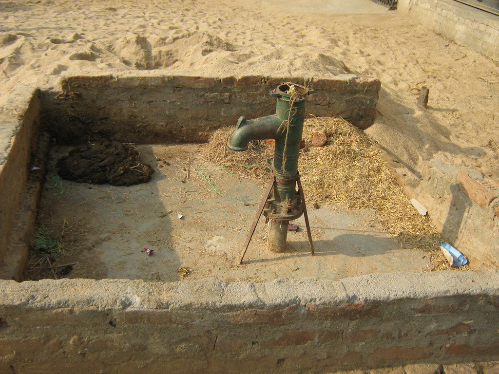 Clean water in village India