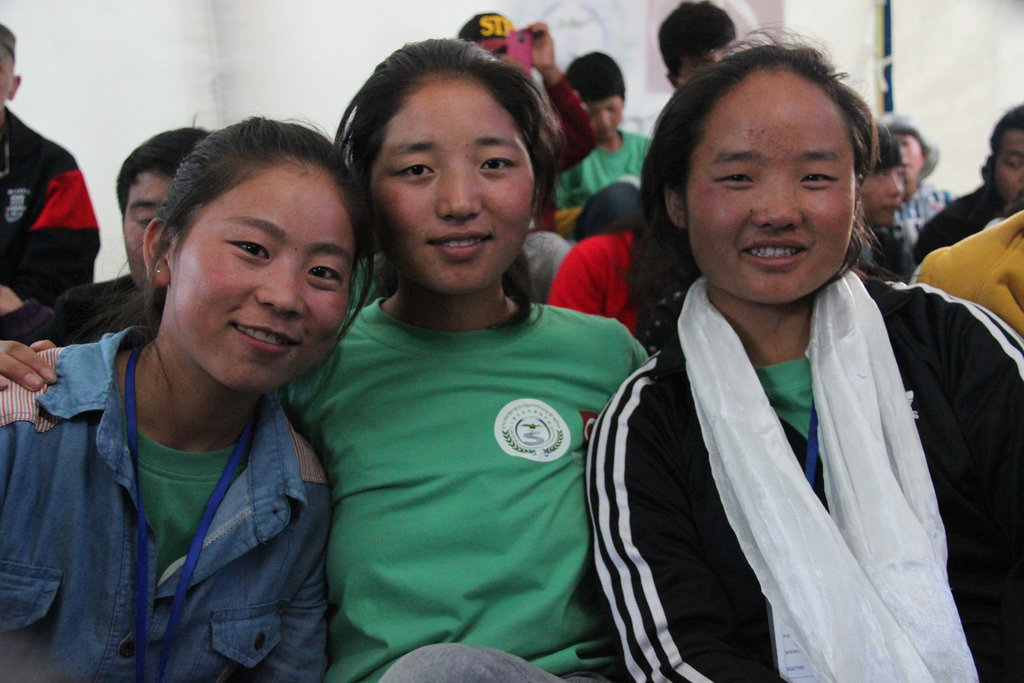 Top ranking girls attending Summer Program