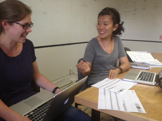 Teamwork in preparing for SEP 2013, Machik office