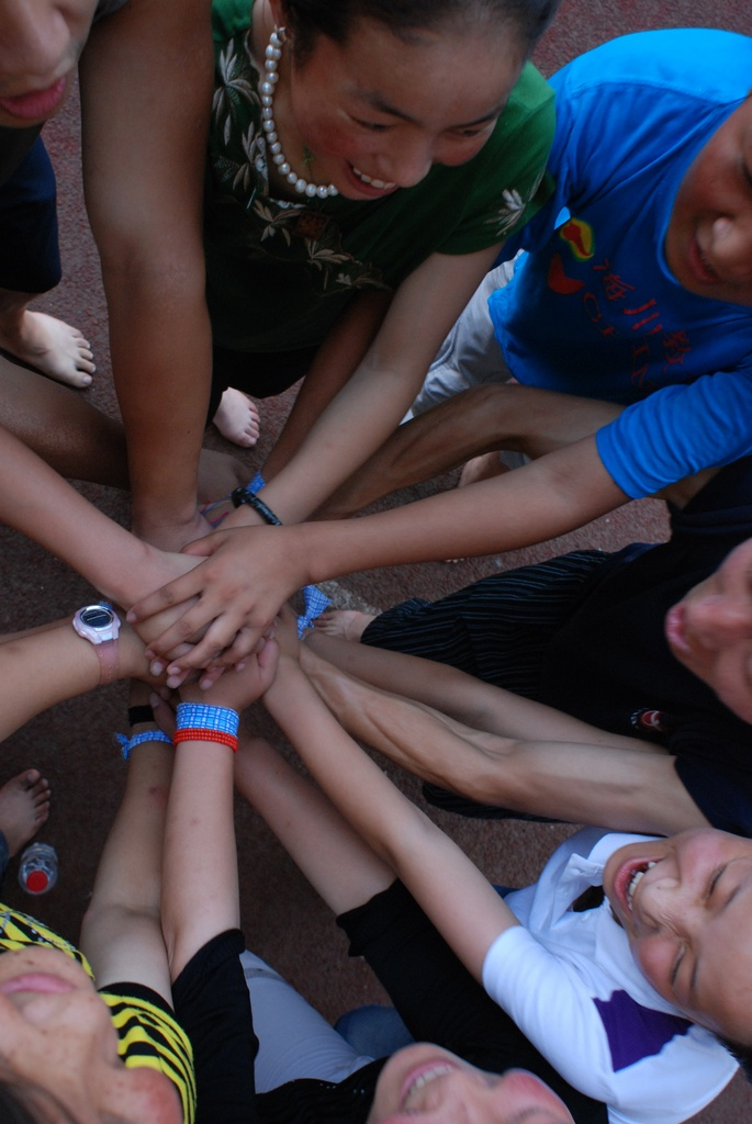 A group activity in 2009