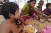 Daily COVID relief to 250 children in India.