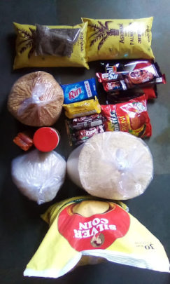 Ration distributed to our communities