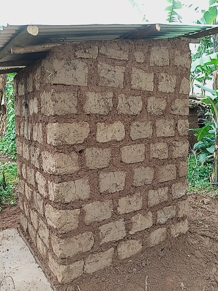 One toilet for one poor family in Rwanda