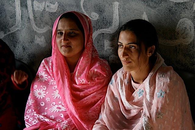 Vocational program in Kashmir