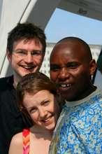 Kelvin Mwika and Andrew MacKay in London 2008