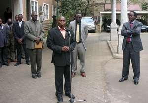 Kelvin with Kenyan Vice President