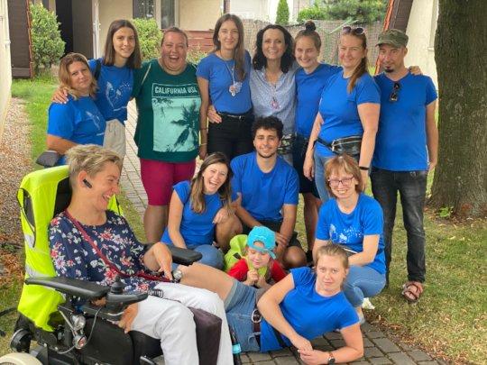 30 volunteers will help children with disabilities