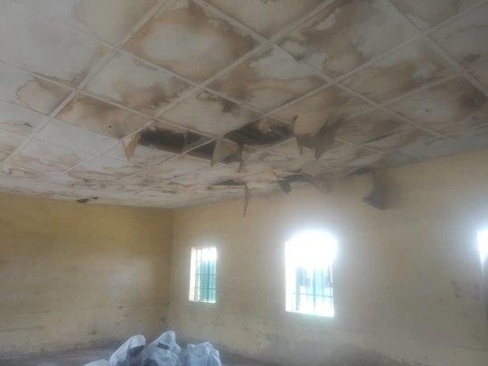 Spoilt ceiling