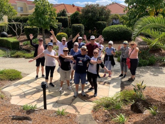 Gold Coast Team Australia!