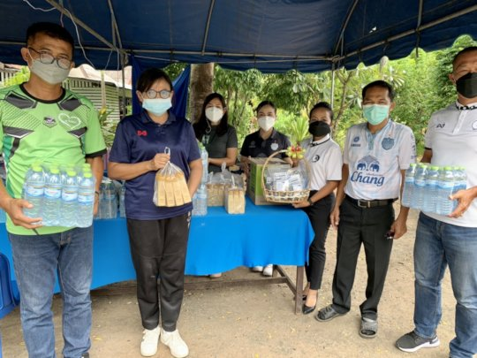 Distributed need things to field hospital