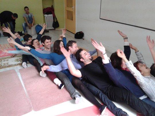 Laughing Yoga 9