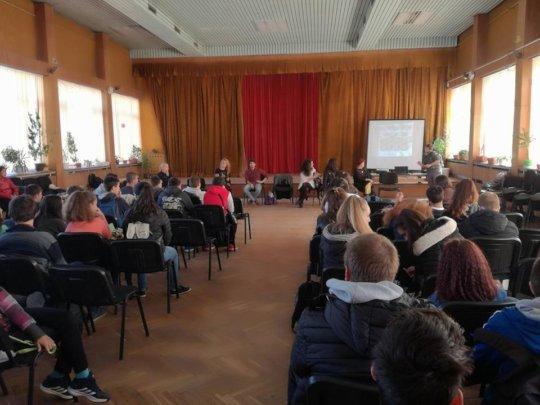 Career workshop in 40 SU Louis Pasteur