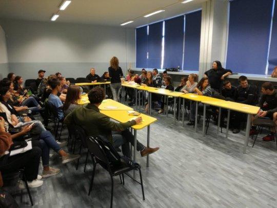 """Career workshop in 90 SU """"Jose de San Martin"""""""