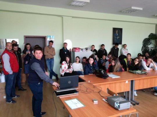 """Career workshop in SU """"Doctor Peter Beron"""""""