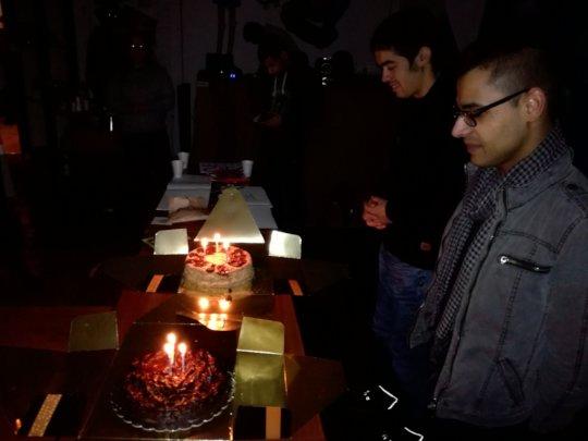 Celebrating x 2