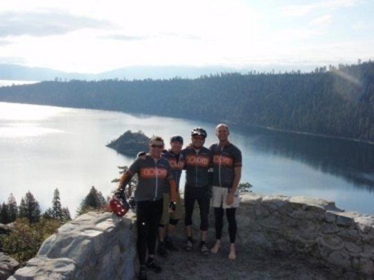 Tahoe Ride for Rett Syndrome, June 6, 2010