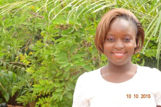 Fatimata enjoys working with & teaching children