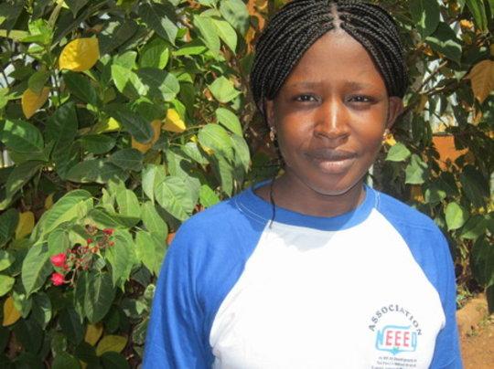 Salimata Ouedraogo, future teacher