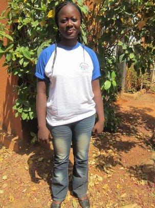 Ouedraogo Angelique, nursing training