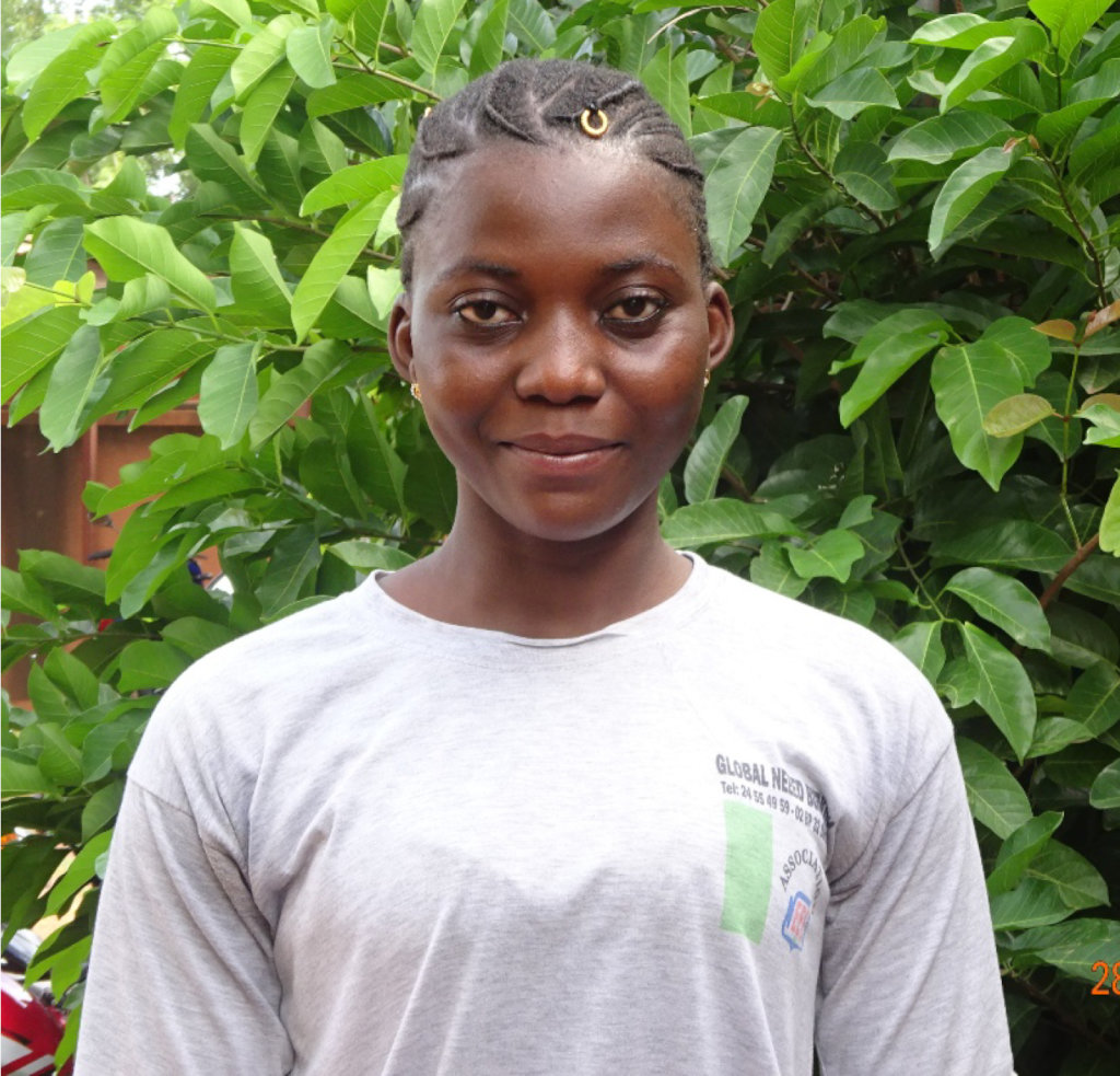 Aguiratou, a proud and grateful midwifery student