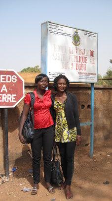 Koudougou nursing students