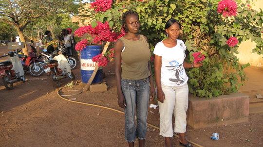 Fada N Gourma nursing students