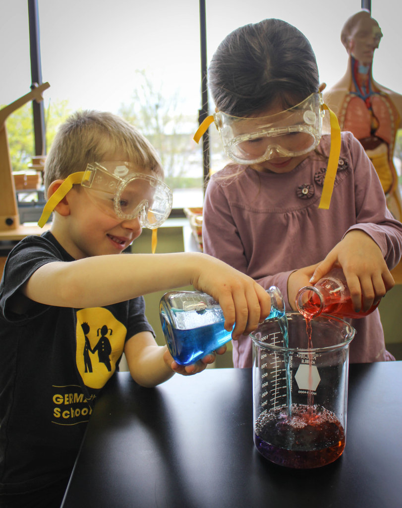 Mixing colors in the GSP Science Lab