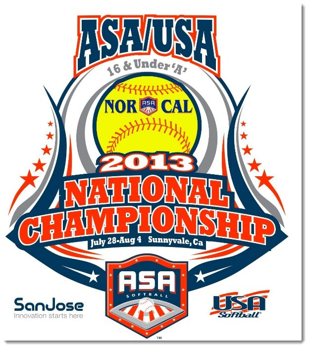 USA/ASA National Tournament Logo