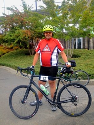 Chris, Red Rider at Tour de Cure