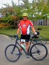 Chris, Red Rider at Tour de Cure