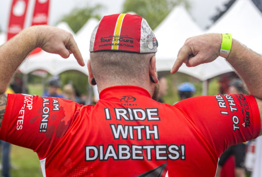 Tour de Cure cycling event