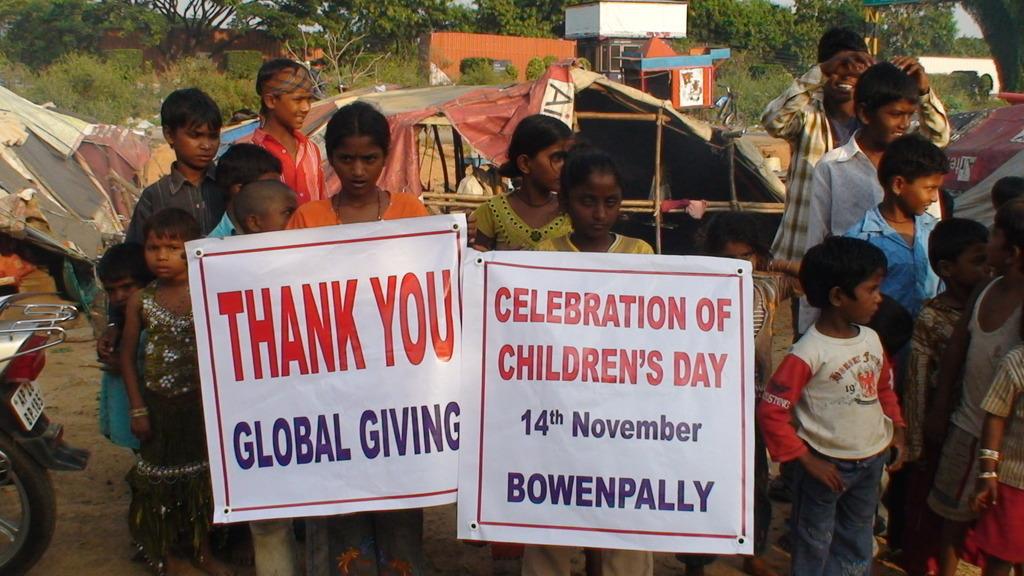 GRATITUDE TOWARDS GLOBAL GIVING