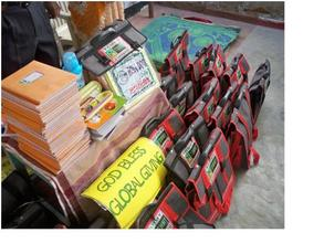 school needs ready for distribution