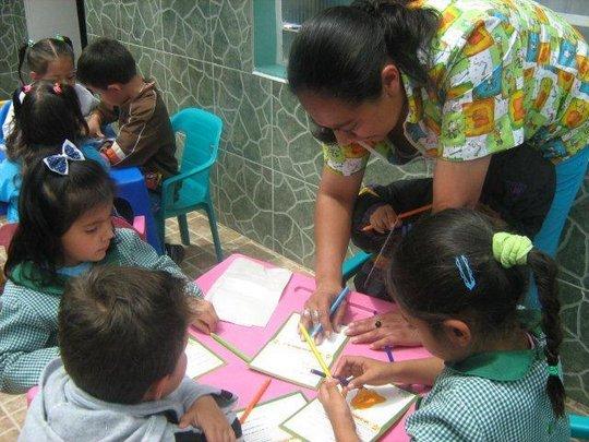 Children Participating in a Workshop