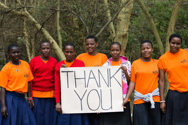 Kisa Scholars say Thankyou