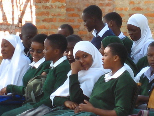 Young women at AfricAid Partner School