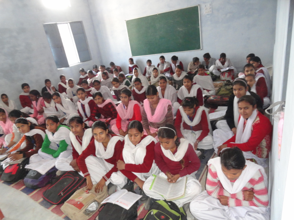 74 girls enrolled in 9th grade