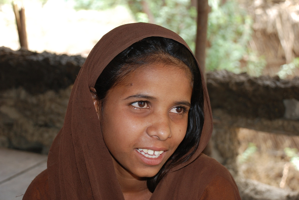 Afsana is a role model for girls in her village