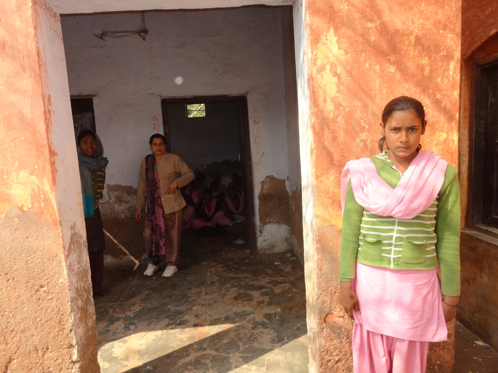 Manju at her school
