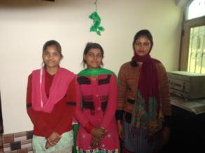 Nikita, Babita, and Laxmi
