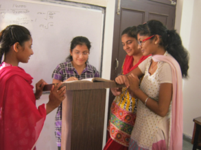 From left to right, Sarita, Babit, Sapna and Ritu