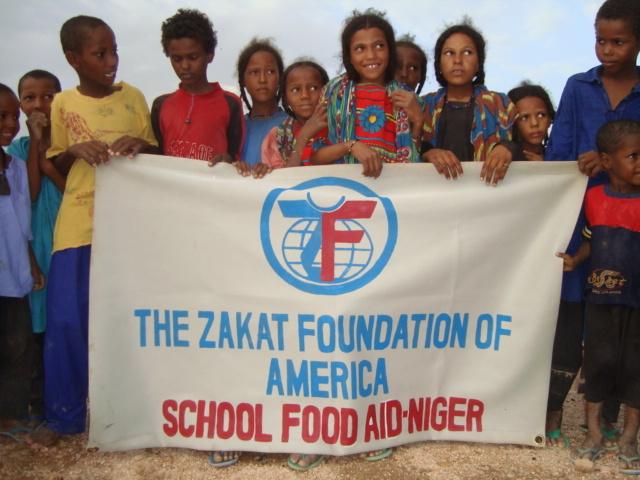 Students at the School in Tazorat