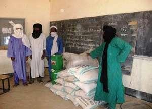 Emergency Food Distribution, Ebourkoum
