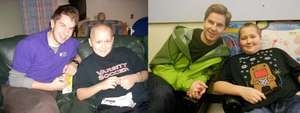 Jacob & Chemo Pal Ryland, before & after treatment