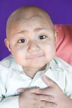 4-year-old cancer warrior Amos