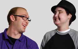 Chemo Pal Spencer and Brandon