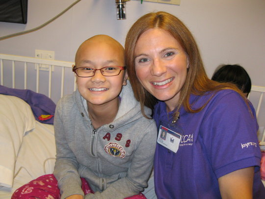 Tina and Chemo Pal Laurie