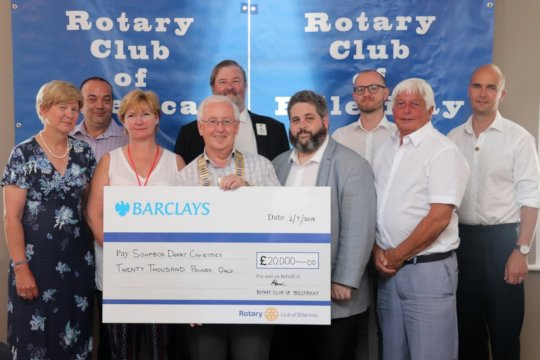 Raising Funds for local and national charities