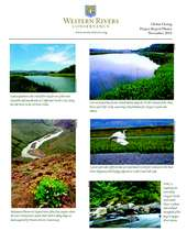 Western Rivers Conservancy: Fall 2010 Photos (PDF)