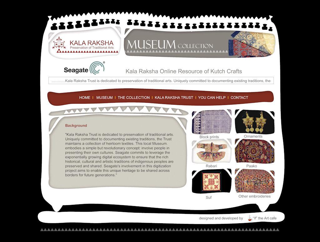 visit the improved Kala Raksha Museum site